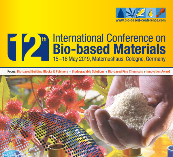 12th International Conference on Bio-based Materials